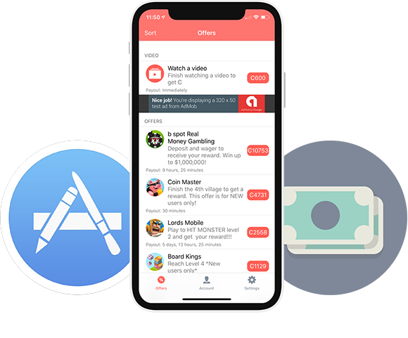 Free Paid Apps iOS 12.0 & Cash for iOS 12